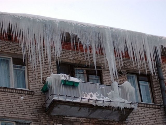 Очистка крыш от снега челябинск